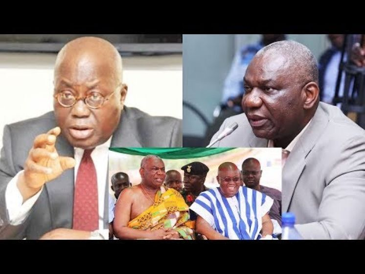 BREAKING NEWS Nana Addo sacks Energy Minister, Boakye Agyarko